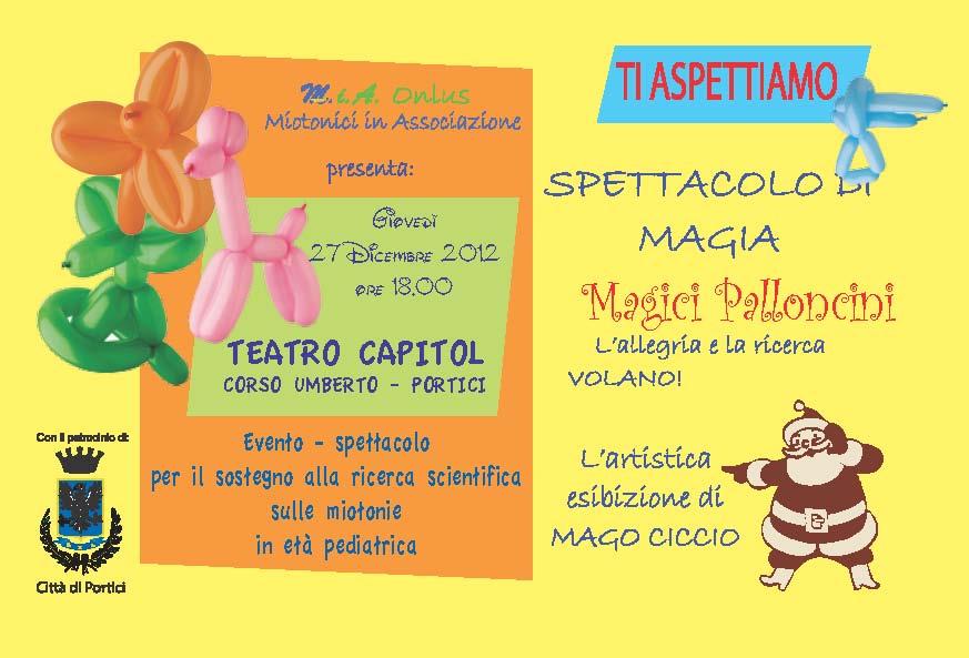 M.i.A. spettacolo magia per raccolta fondi